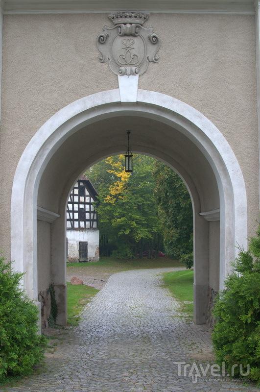 Парадный въезд в пометье Pałac Galiny, Галины / Фото из Польши