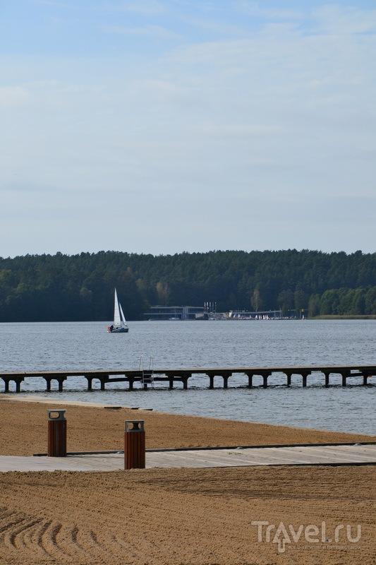 Набережная озера Укель, Ольштын / Фото из Польши