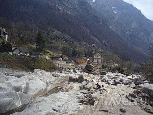 Verzasca - бирюзовая долина / Швейцария