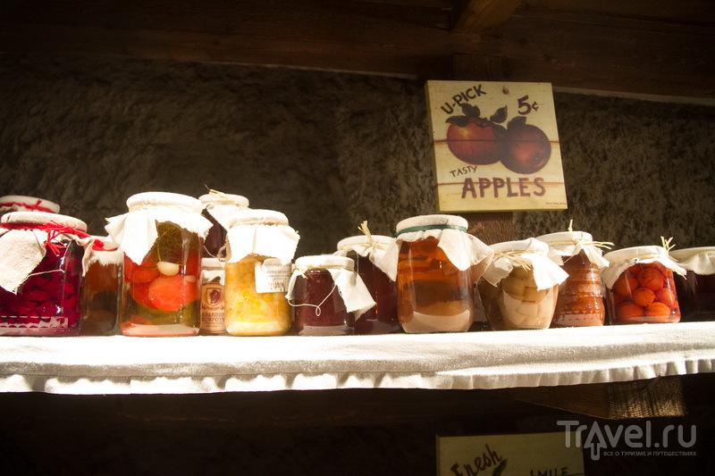 Яблочное варенье на рождественской ярмарке