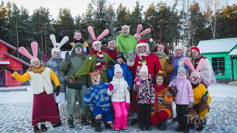 Рождественская программа в парке Lottemaa