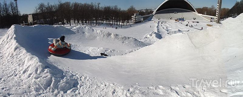 Зимний парк Talve Park в Таллине