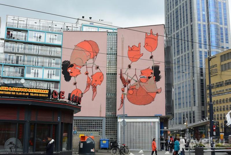 Скульптурные прогулки по Роттердаму. От Родена до Великана / Нидерланды