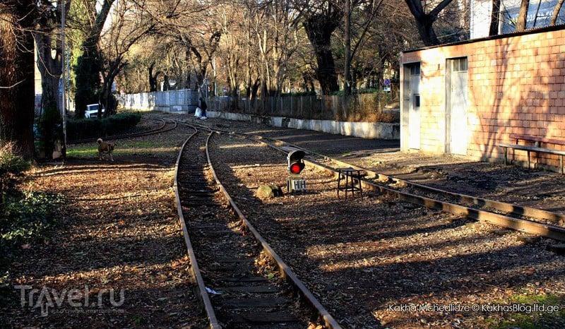 Первая детская железная дорога