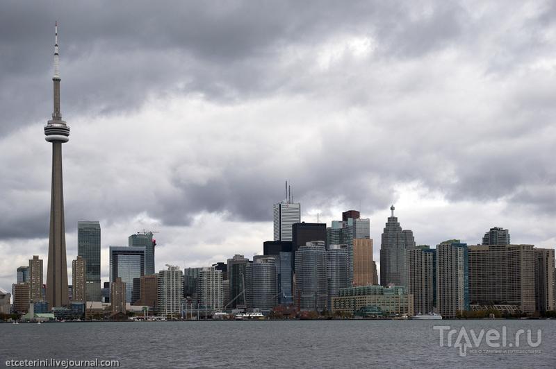 Торонто. Харборфронт и озеро Онтарио / Фото из Канады