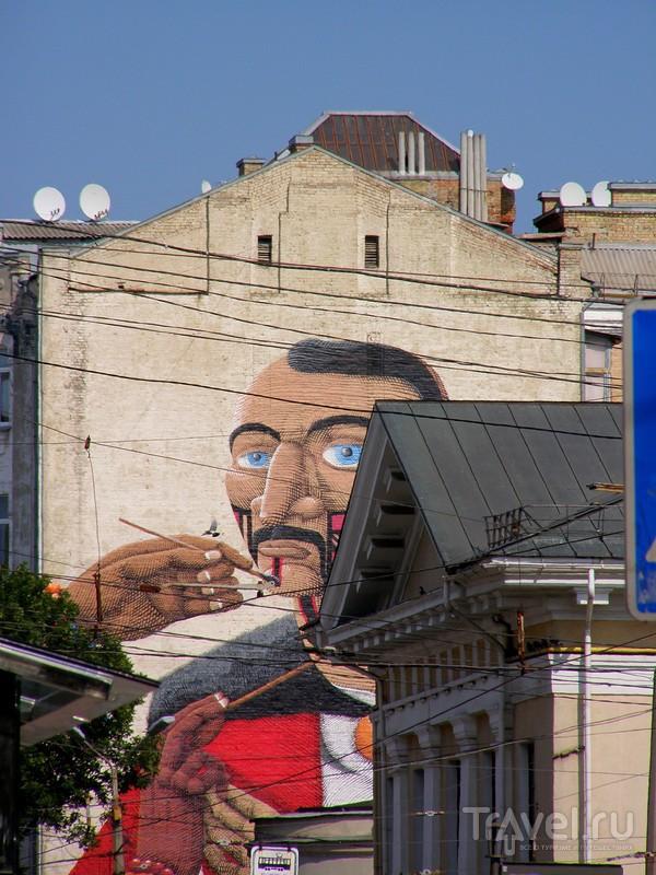Киев. Подол. Близ Контрактовой площади / Украина