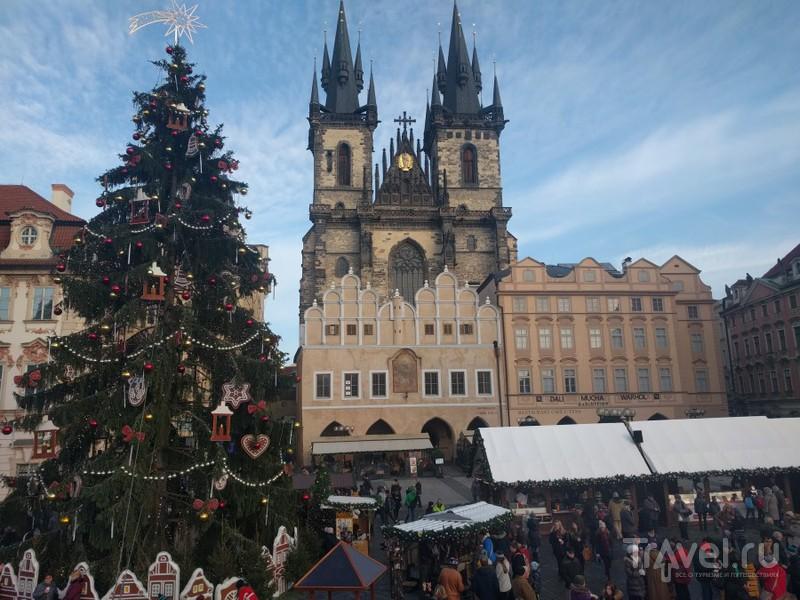 Предрождественская Чехия. Прага и Чешский Крумлов / Чехия