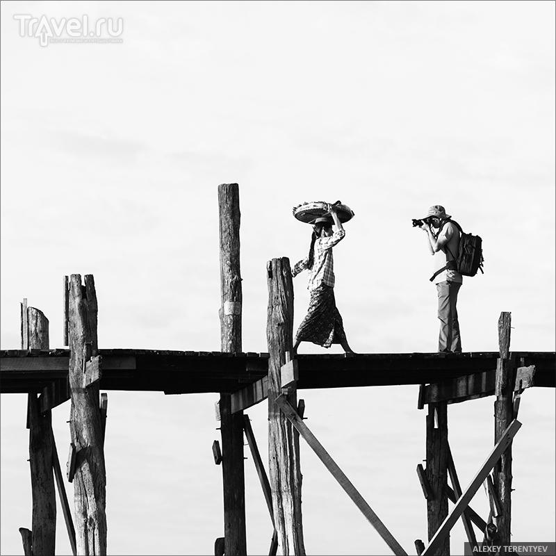 Тиковый мостик / Мьянма
