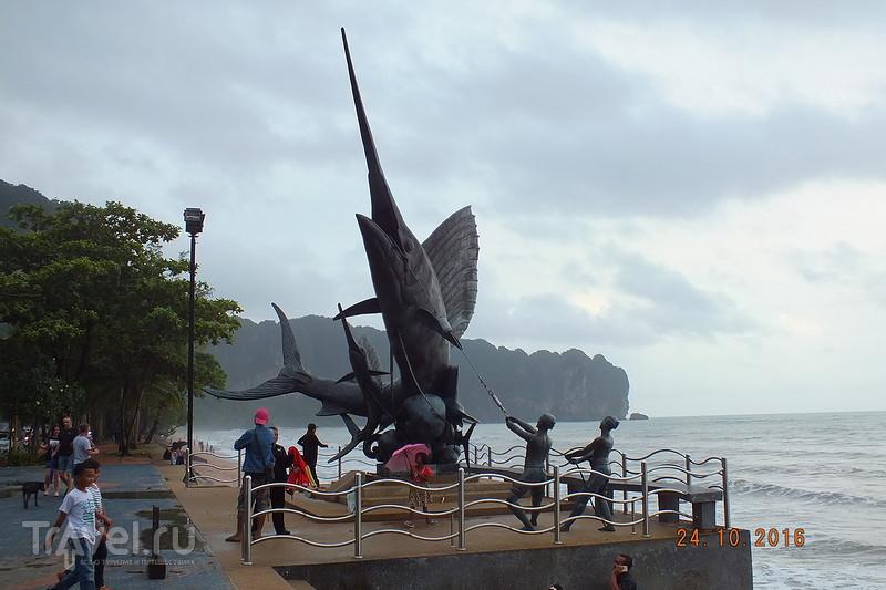Провинция Краби. Пляж Ao Nang. Пляж Ton Sai Beach / Таиланд