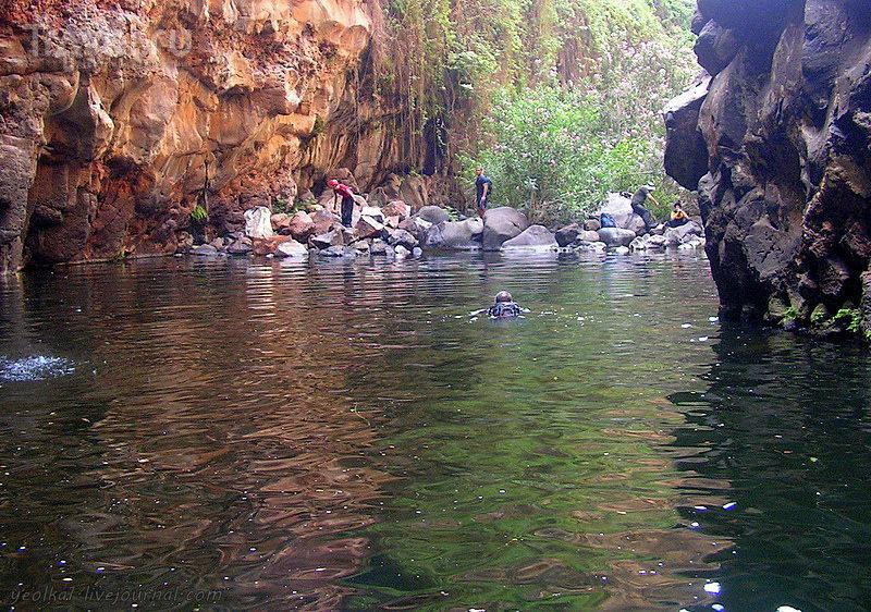 Чёрный Каньон - каньонинг в жаркий день / Израиль