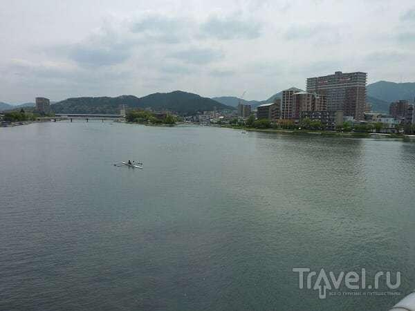 В Осаку на велосипеде. Озеро Бива, Киото, наконец-то Осака / Япония