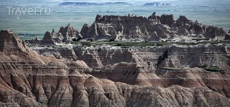 Южная Дакота: фотографии национального парка Badlands / США