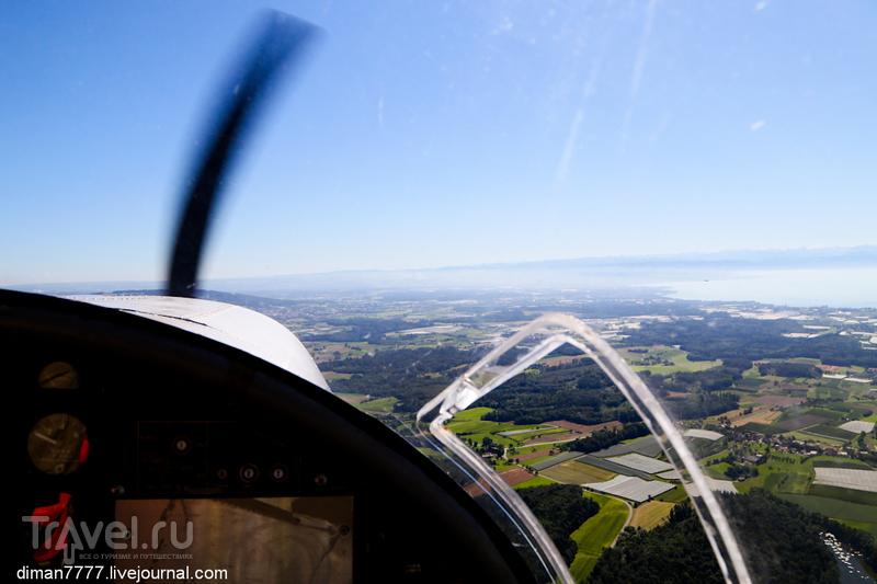 Полет над Боденским озером на До-27 / Германия