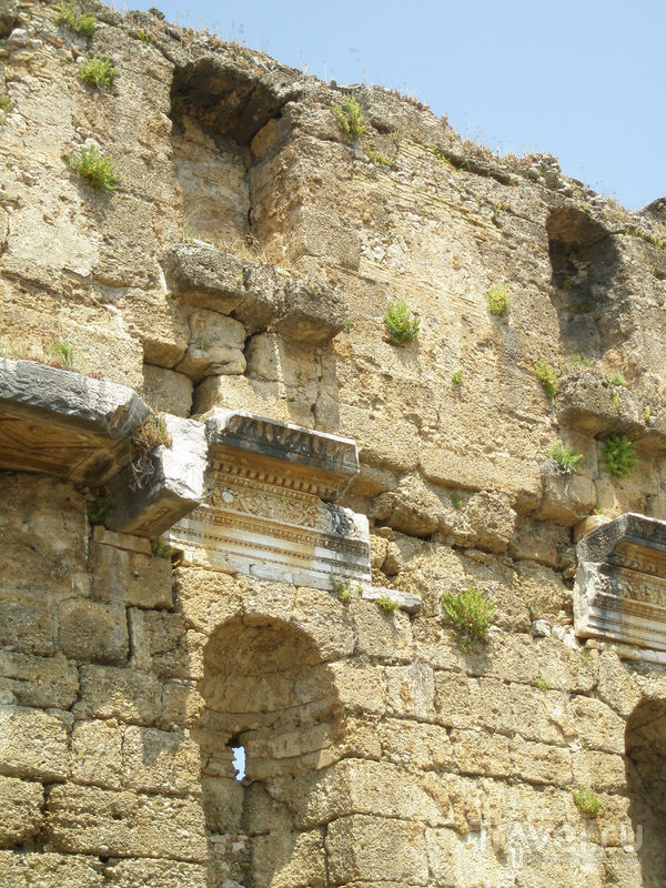Неизвестная Турция. Древний город Аспендос / Фото из Турции