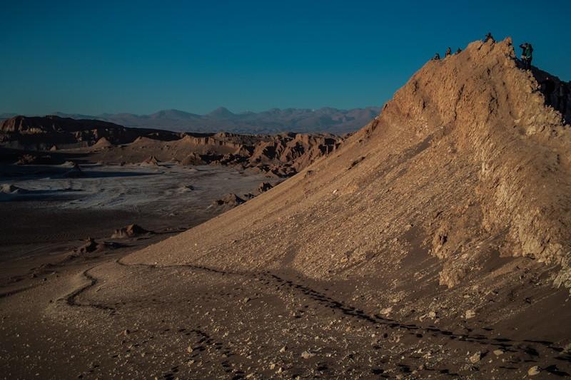 Есть ли жизнь на Марсе?  Valle de la Luna, Chile / Фото из Чили