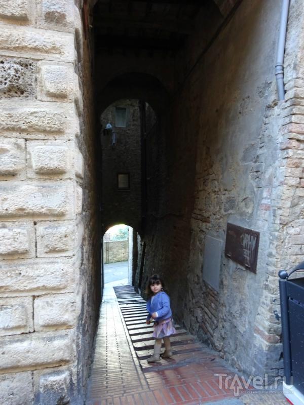 Тоскана, Сан-Джиминьяно / Италия
