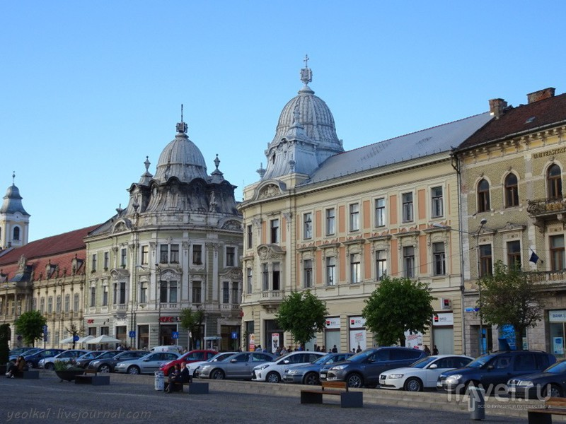 Вечер в Клуж-Напока / Фото из Румынии