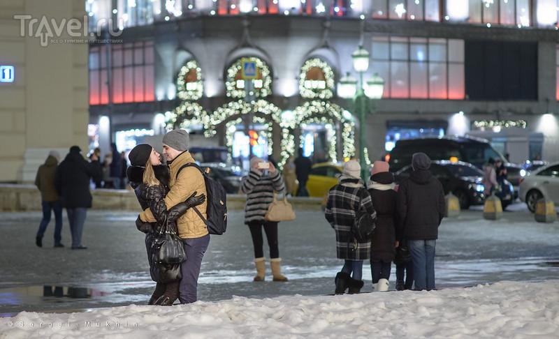 Рождественские сказки Москвы / Фото из России