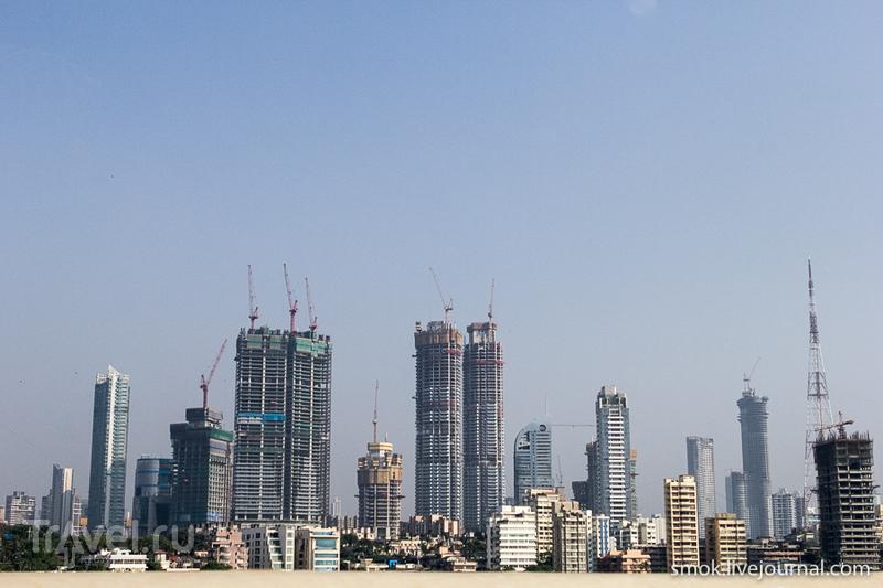 Мумбаи, трущобы и пара достопримечательностей / Индия