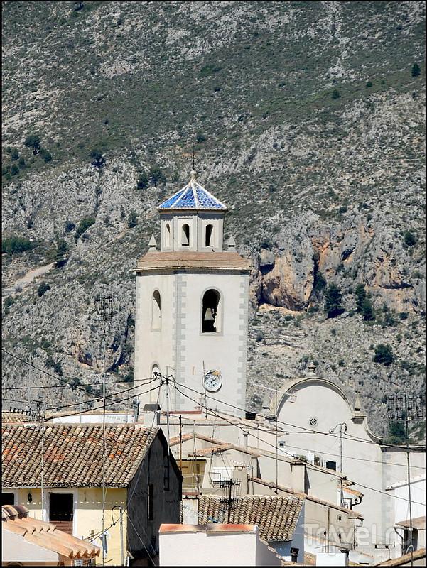 Benimantell - Castillo de Penella. Испания / Испания