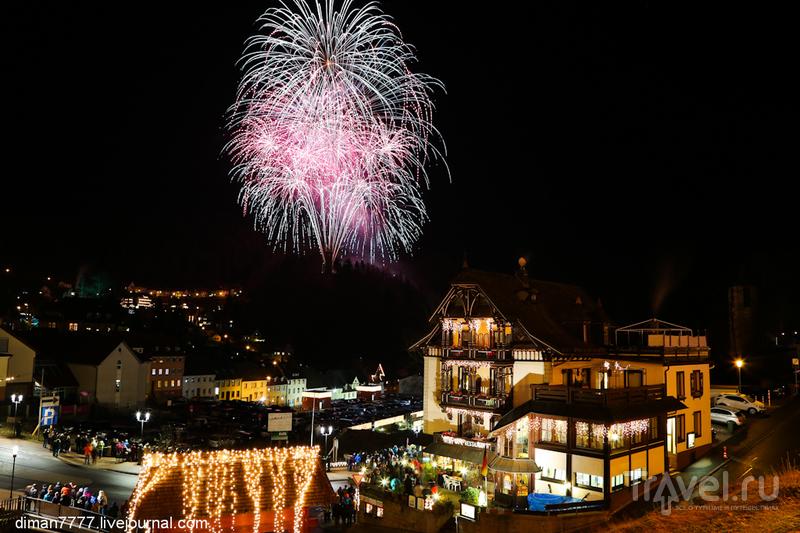 Рождественская сказка в Триберге / Германия