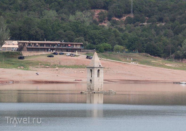 Подводная деревня в Каталонии / Испания
