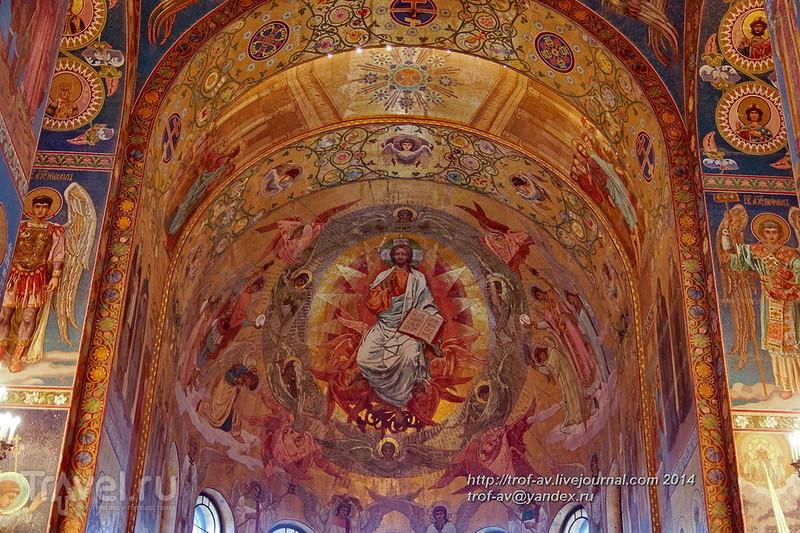 Храм Спаса-на-Крови, внутреннее убранство, Санкт-Петербург / Фото из России