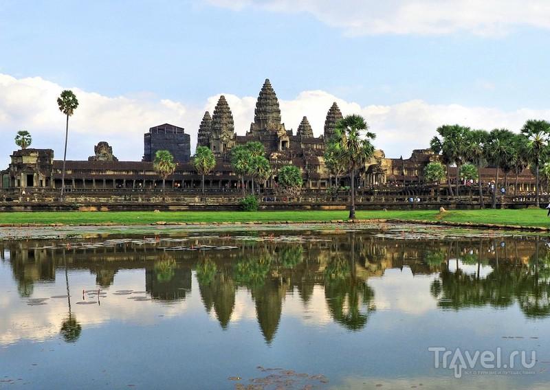 Камбоджа. Ангкор Ват и немного Сием Реап / Фото из Камбоджи