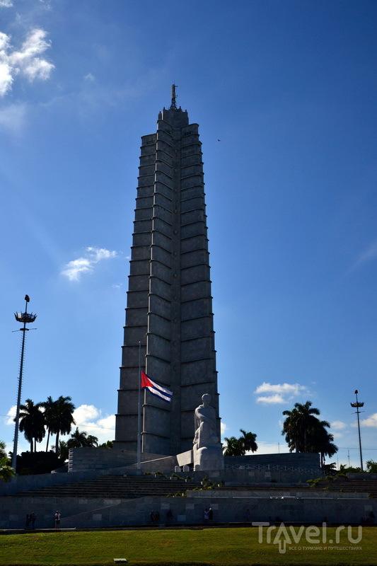 Мемориал Хосе Марти на площади Революции