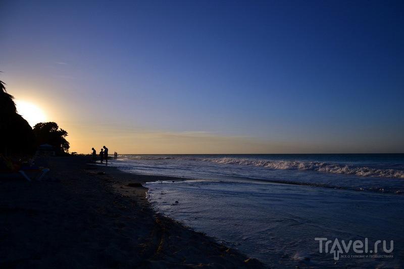 Закат с пляжа Варадеро