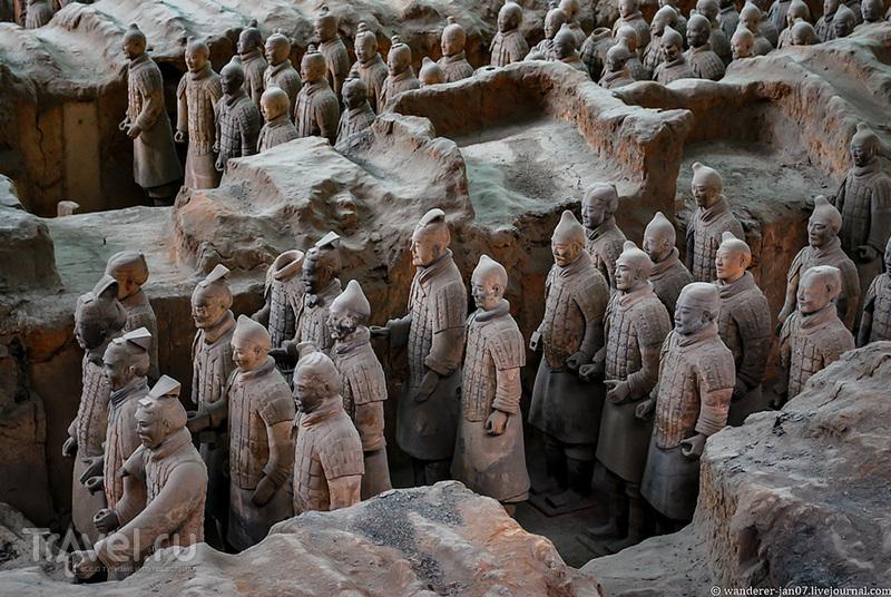 Сиань. Терракотовая армия / Фото из Китая
