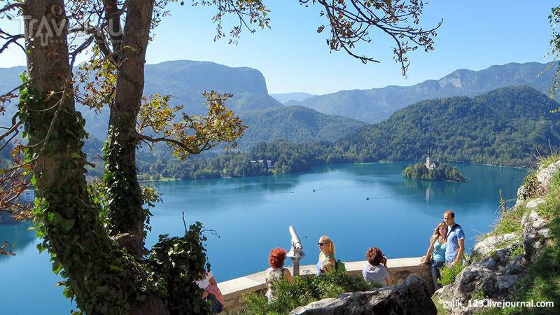 Озеро Блед в Словении / Словения