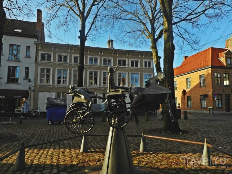 Залечь на дно в Брюгге / Бельгия
