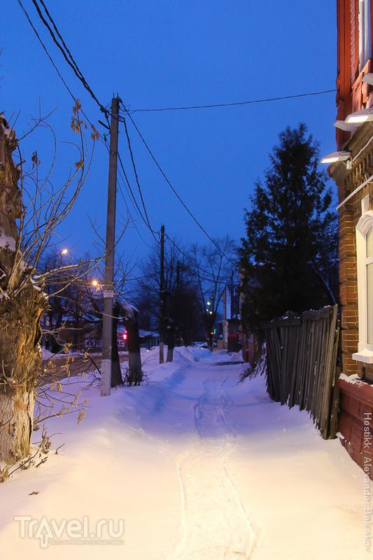 Поездка в Зарайск в январе / Фото из России