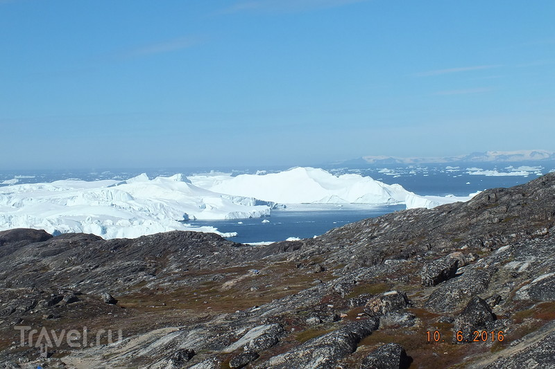 Гренландия. Фьорд Илулиссат. Пешеходная экскурсия / Фото из Гренландии