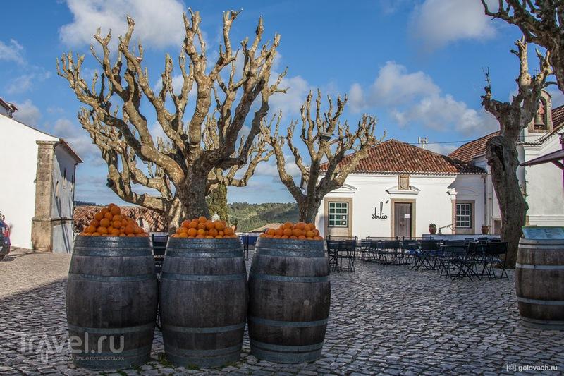 Португальские кружева. Пенише - Обидуш / Фото из Португалии