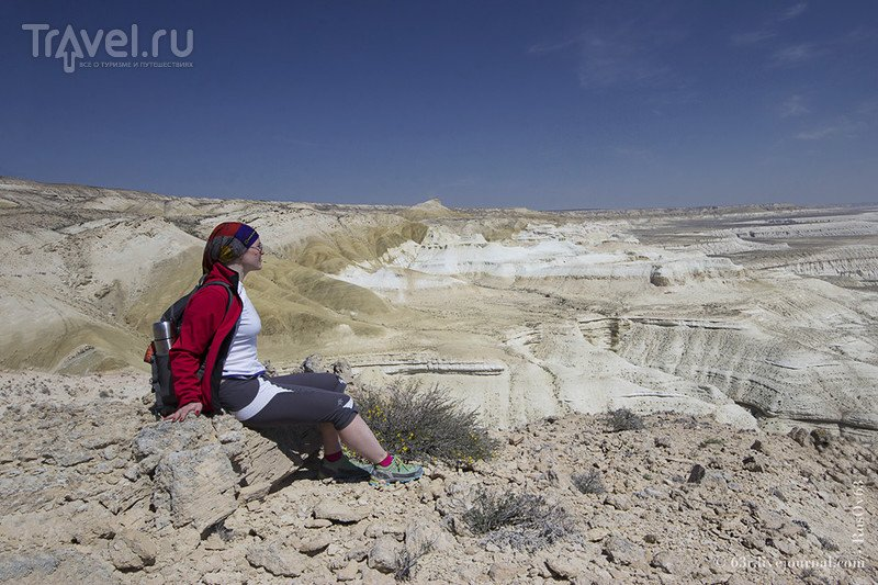 Каньон и ветер. Грандиозный Сор Тузбаир / Казахстан