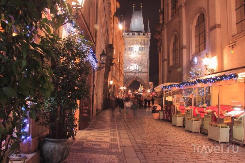 Прага ночью / Чехия