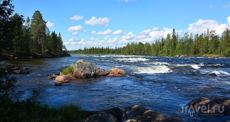 Сплав по реке Умбе на Кольском полуострове / Фото из России