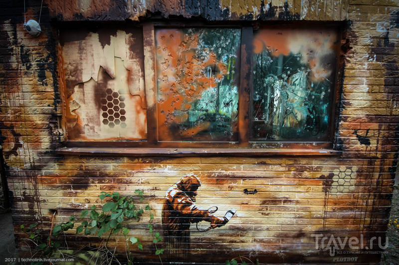 Берлинский стрит-арт / Фото из Германии