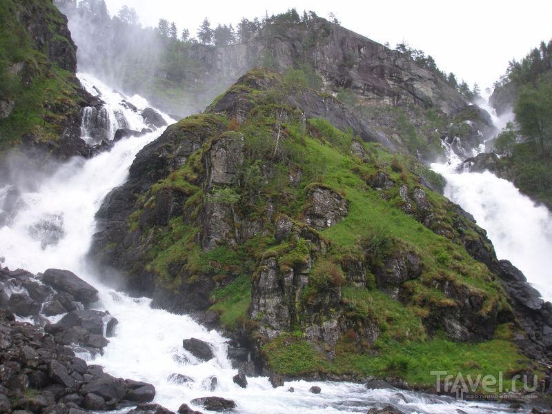 Норвегия. Хардангерфьорд, водопады Латтефоссен и Ворингфоссен / Фото из Норвегии