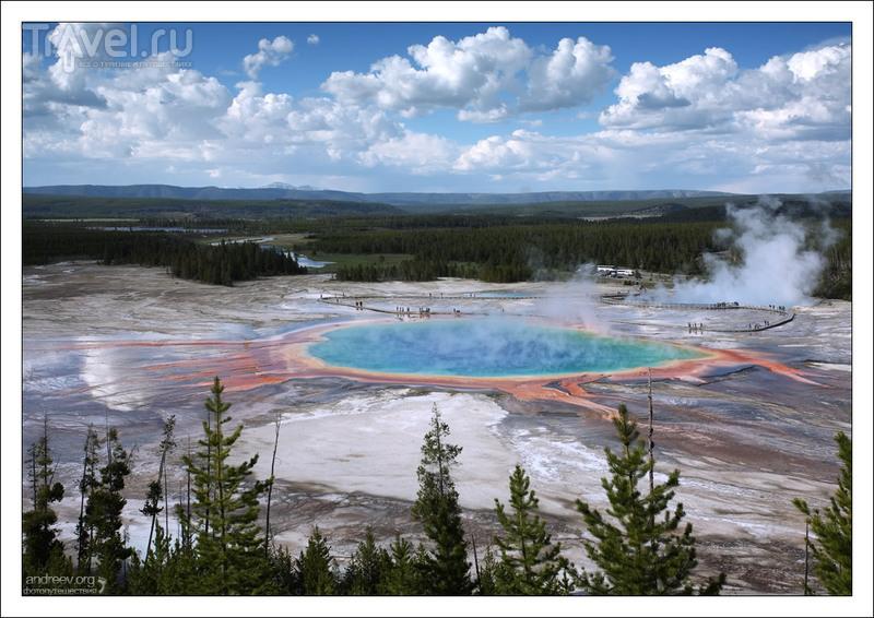 Йеллоустоун: Geyser Basins и West Thumb / США