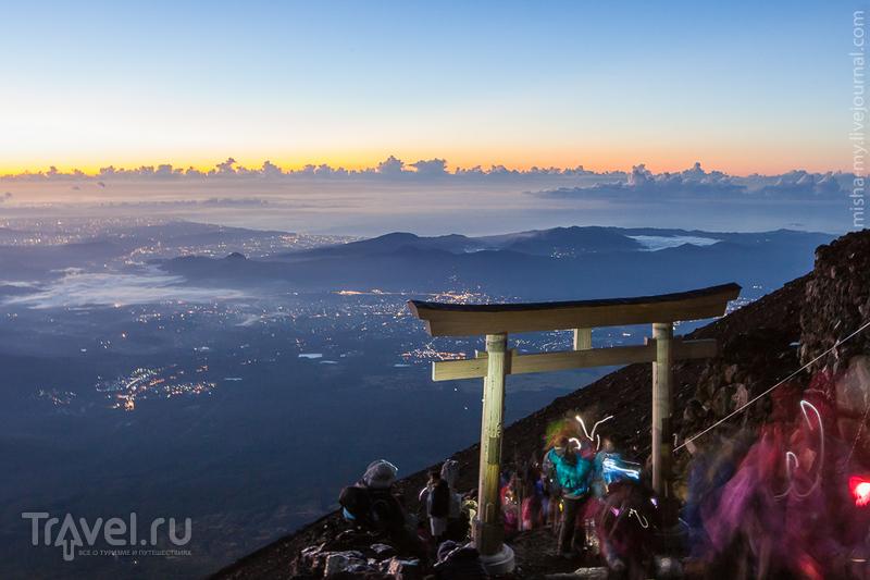 Восхождение на Фудзи / Фото из Японии