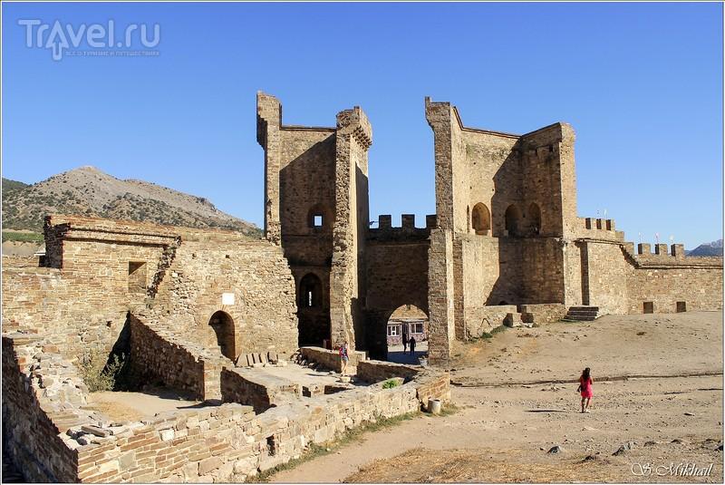Крепость в Судаке / Фото из России