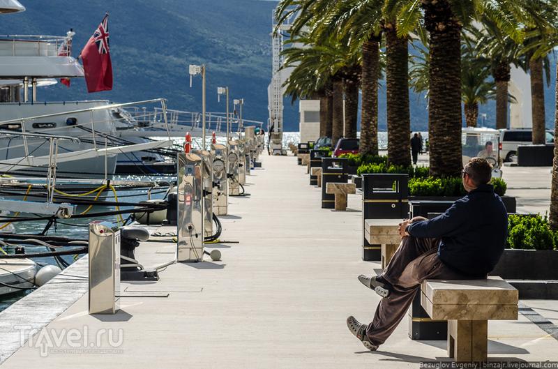 Марина Porto Montenegro / Фото из Черногории