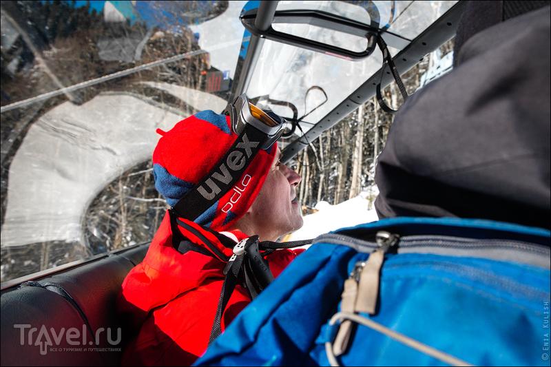 Роза Хутор - Южный склон и другие новинки этого сезона / Фото из России