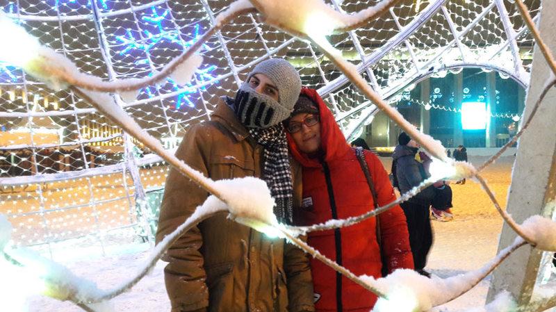 Новогодний Минск / Белоруссия