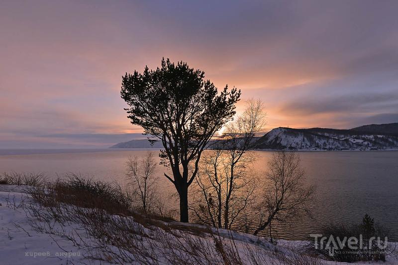 Закаты на Ангаре / Фото из России