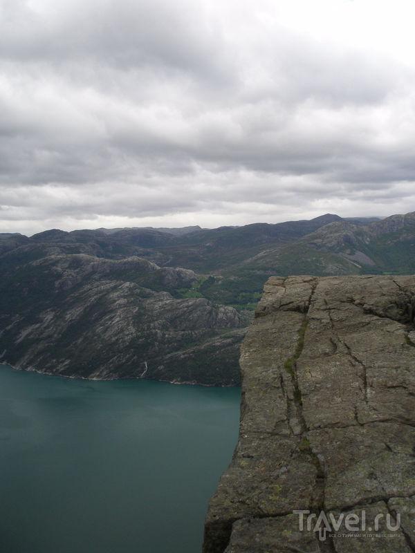 Люсефьорд и Кафедра Проповедника / Фото из Норвегии