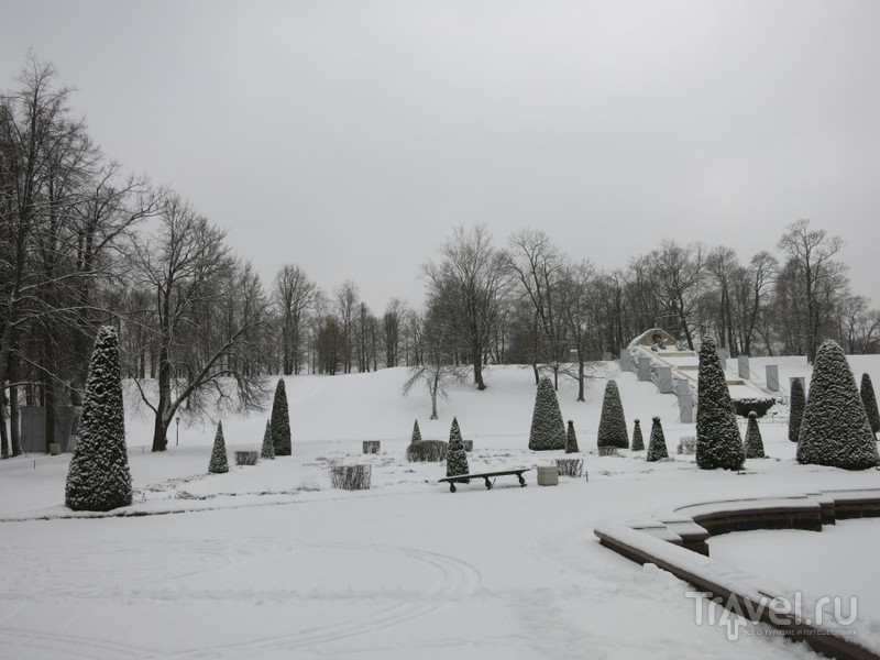 Зимний Петергоф, Нижний парк / Фото из России